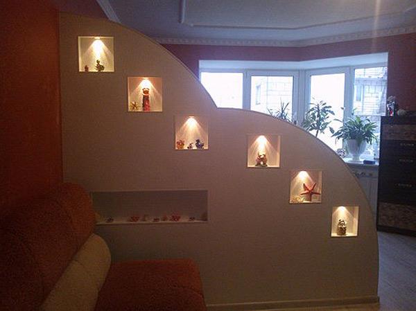 Ремонт квартиры с изготовлением перегородки